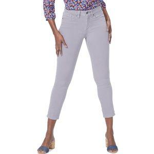 NYDJ Alina Skinny Ankle High Waist Jeans Gray